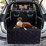 Toozey Völliger Kofferraumschutz für Hund - Reißfeste&Wasserdichter Quilted Kofferraumdecke Hundedecke Auto mit Seitenschutz Schützt den Kofferraum und die Stoßstange vor Schmutz, Kratzern und Haaren