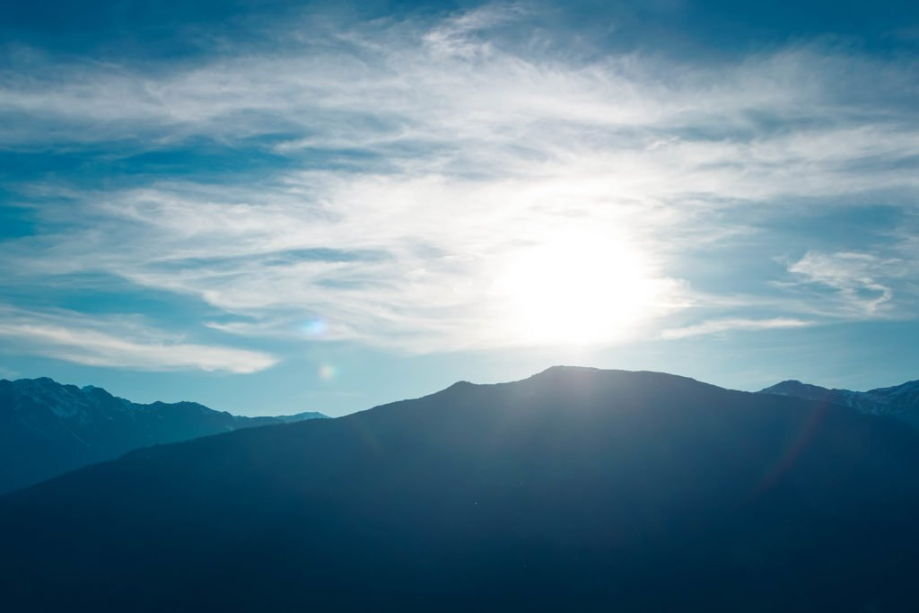 Von der Sonnenalm aus kann man wunderbare Sonnenuntergänge beobachten