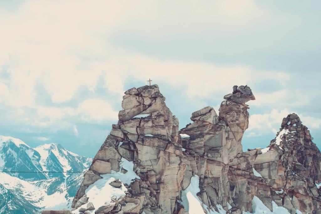 Österreich Gletscher Hintertux