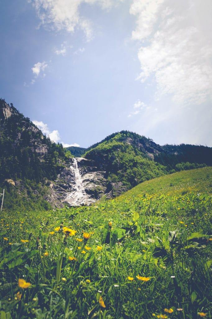 Traumhafte Natur im Zillergrund in Österreich